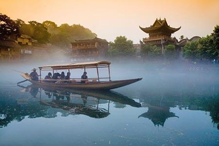 凤凰古城 导游词 中国风景名胜古迹 睿智导航图片